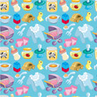 cartoon baby good seamless pattern
