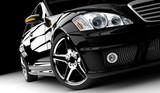 Fototapety Black car