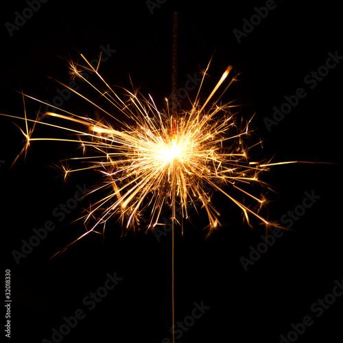 In de dag Vuur / Vlam Sparkling explosion