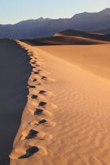 Sand dunes at Mesquite Flat