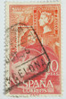 Spanish postage stamp