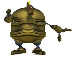 big robot will reach you