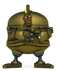 big robot evil pose