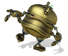 big robot gonna grab you
