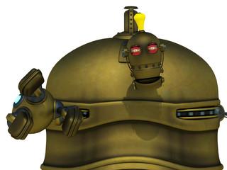 big robot will reach you closer