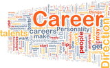 Career background concept