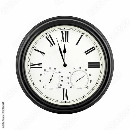 Almost twelve o'clock