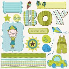 Scrapbook Boy Set - design elements