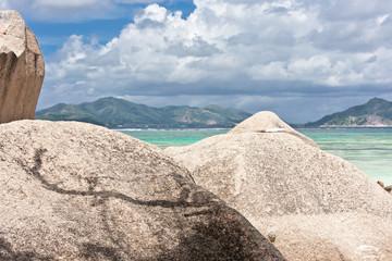 rochers à Anse Source d'Argent, la Digue, Seychelles