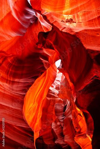 Foto op Canvas Baksteen Antilope Canyon
