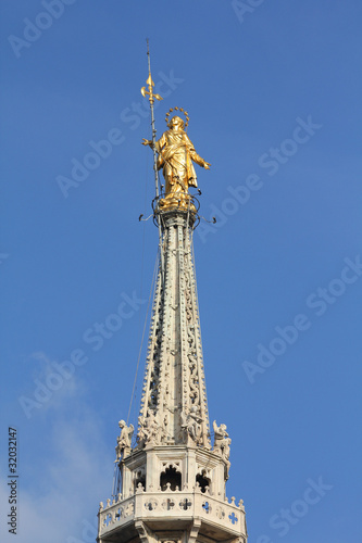 Our Lady - Spire of Milan cathedral