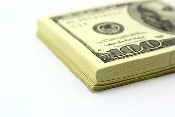 dollar bill whitebackground