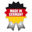 Made in Germany - Schild, Siegel, Aufkleber