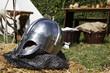 Leinwandbild Motiv Helm - Burgfest Stettenfels