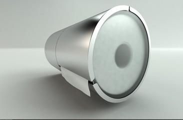 Toilettenpapierhalterung