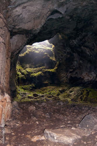 exit from cave