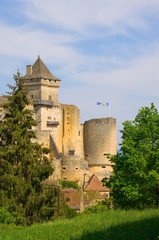 The Chateau de Castelnaud, Perigord, France