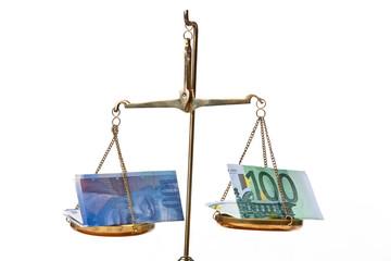 Euro und schweizer Franken
