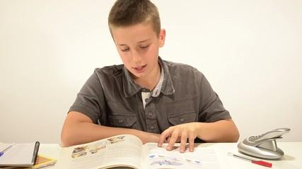 il bambino e lo studio