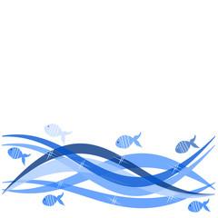 onde e pesci