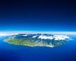 Leinwanddruck Bild - ile de la Réunion