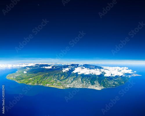 Leinwanddruck Bild ile de la Réunion