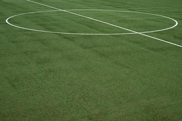 Lines on soccer field