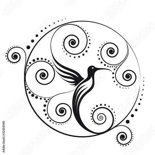 手绘logo l