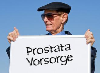 Prostata Vorsorge Untersuchung