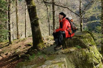 Schwarzwald-Wanderer