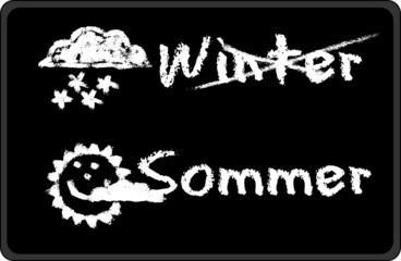 Black - Winter - Sommer
