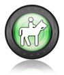 "Green Industrial Style Icon ""Horse Trail"""