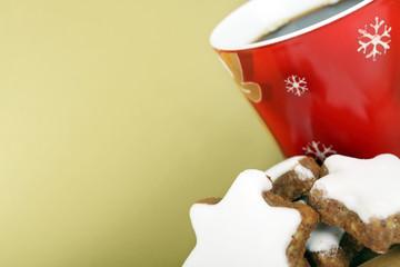 Plätzchen zum Kaffee