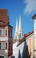 Peterskirche vom Untermarkt aus