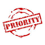 priority poster