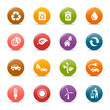 Colored dots - Ecological Icons