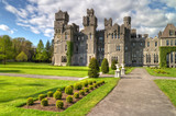 Medieval Ashford castle and gardens - Co. Mayo - Ireland