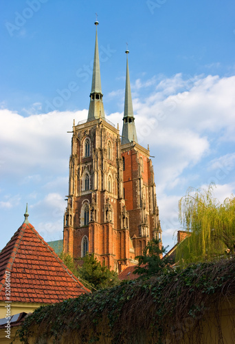 Cathedral in Wroclaw on Tum Island, Poland © CCat82
