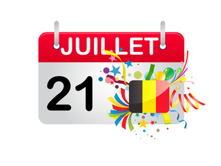 Holiday Calendar Belgium National Day