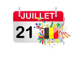 Holiday Calendar Belgium National Day
