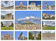 ancient and classical buildings in Athens Greece