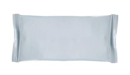 white blank foil packaging ready for new design