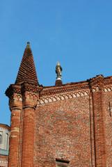 Dettaglio della chiesa di Pieve di Santa Maria Assunta - Soncino