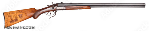 Leinwanddruck Bild old hunting rifle
