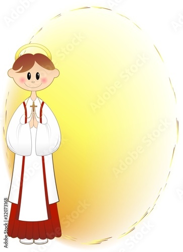 Bambino Prima Comunione Auguri-Boy First Communion Background