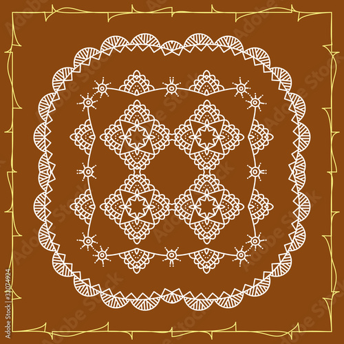 Folk Tribal Designs Motif