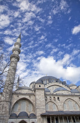 Exterior of the Suleymaniye Mosque