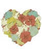 Floral Heart Shape