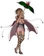 Pink Umbrella Fairy - 2