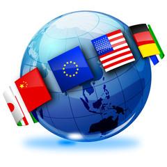 mondo 3d, nazioni
